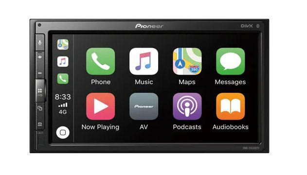 Central multimidia Land Rover Freelander 2 Pioneer - CarPlay, Android Auto, camera de ré Bluetooth Youtube -  DMH-ZS5280TV