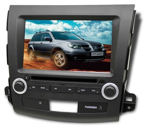 Central Multimídia Mitsubish Outlander Com DVD GPS Mapa Bluetooth MP3 USB Ipod SD Card Câmera Ré Grátis - Winca