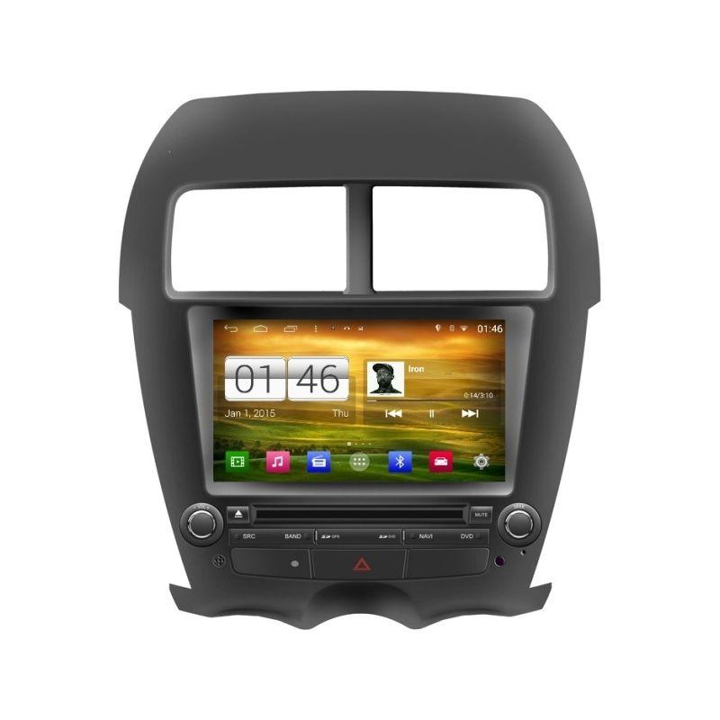 Central Multimidia Mitsubishi ASX 2012 a 2018 -  S160 - Android + Camera de ré -  Espelhamento DVD GPS Mapa Bluetooth MP3 USB Ipod SD Card Câmera Ré Grátis