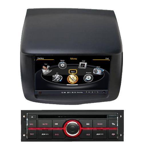 Central Multimidia Mitsubishi L200 Triton 2008 2009 2010 2011 2012 2013 2014 2015  - Pajero Dakar 2009 á 2013 Com DVD GPS Mapa Bluetooth MP3 USB Ipod SD Card Câmera Ré Grátis