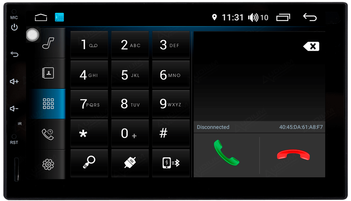 Central Multimidia Nissan Kicks  - WINCA X7 - Android 8.1 - 2 Cameras ré + Frontal  - Bluetooth MP3 USB Ipod