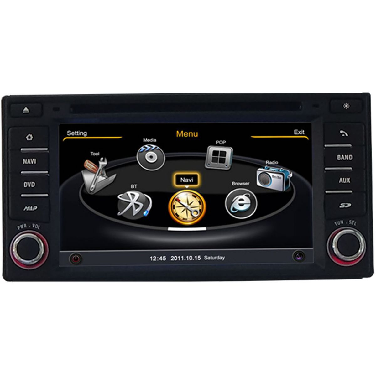 Central Multimidia Nissan March 2014 á 2018   e  Versa 2015 2017 2018  Com DVD GPS Mapa Bluetooth MP3 USB Ipod SD Card Câmera Ré Grátis - Preta - Winca