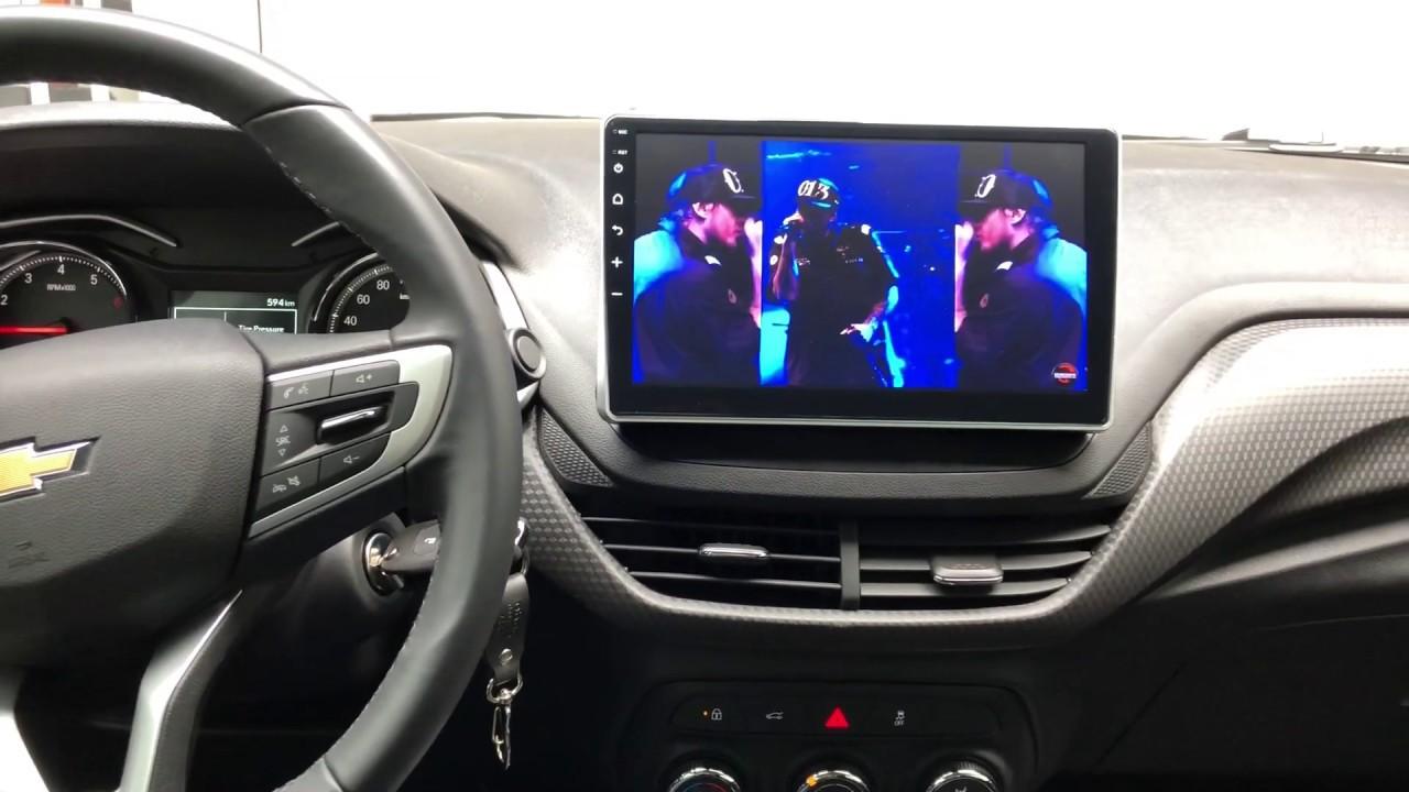 Central Multimidia Onix Hatch / PLus  FaaftechTela 10 pol  - Waze Spotify youtube - camera Ré + Frontal  - GPS Integrado -  Bluetooth -  entradas USB - Android 10