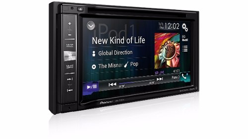 "Central Multimidia Pioneer 2 Din AVIC-F980TV Tela 6,2"" Polegadas Com Mixtrax, MP3, GPS, TV Digital, Mirrorlink, CarPlay, Entrada USB, Bluetooth, TouchScreen + Câmera de Ré"