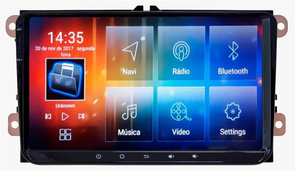 """Central Multimidia Renault Captur Duster Oroch -  Aikon 8.0 - Tela 8"""" Android + Camera de ré -  Espelhamento DVD GPS Mapa Bluetooth MP3 USB Ipod SD Card Câmera Ré Grátis"""