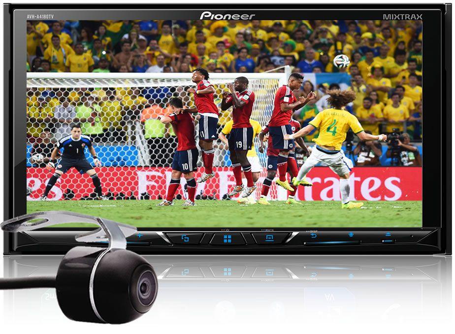 Central Multimidia Renault Captur Duster Oroch -  Pioneer Avh-a4180tv   DVD - Espelhamento GPS Waze Bluetooth MP3 USB  + Câmera Ré Grátis
