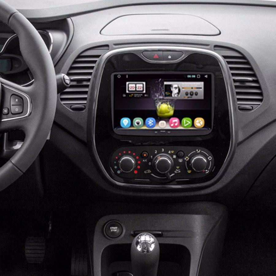 Central Multimidia Renault Captur -  S300 10 polegadas  Android  + Camera de ré -  Espelhamento GPS Mapa Bluetooth MP3 USB Ipod SD Card Câmera Ré Grátis