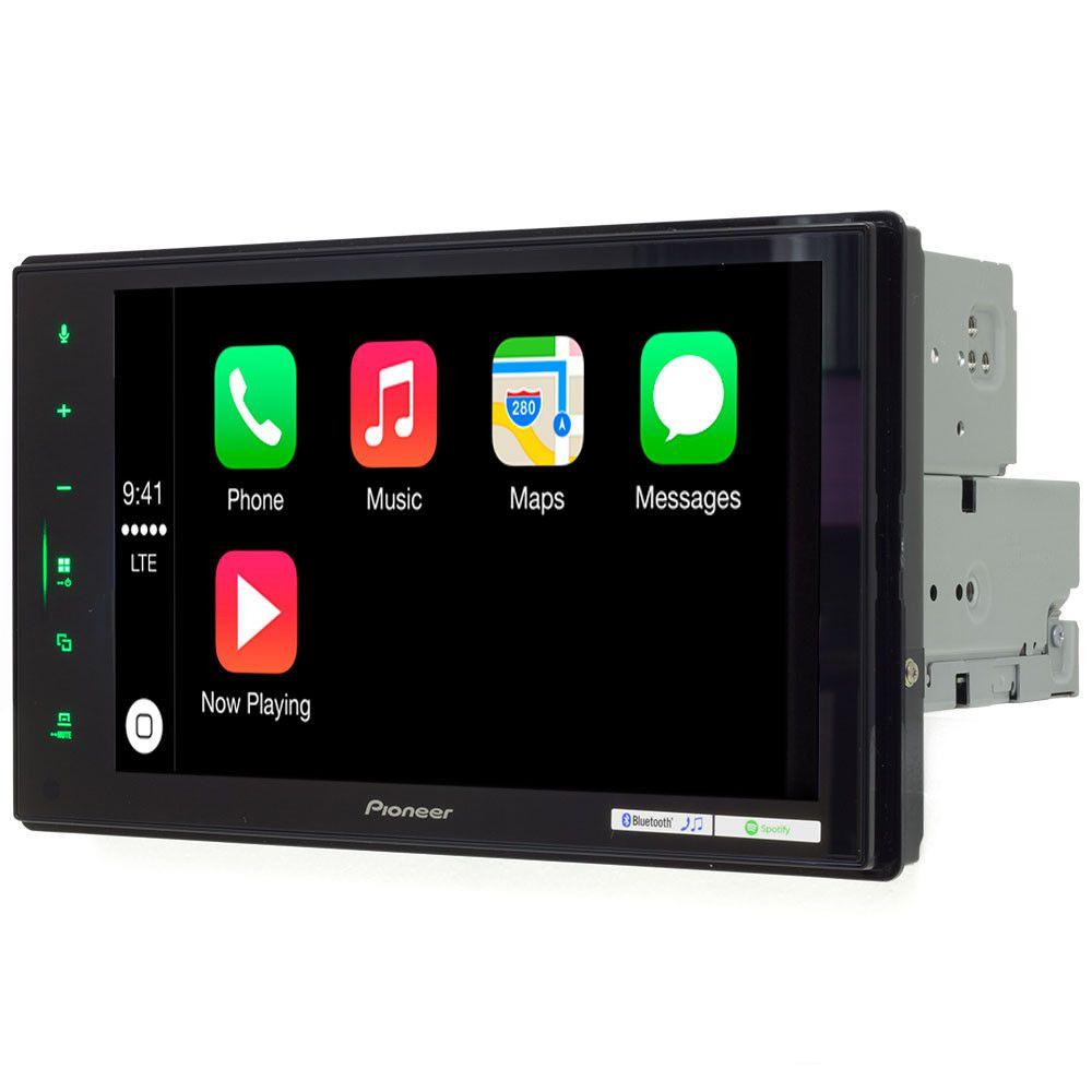 Central Multimidia Renegade 8 polegadas  - Pioneer DMHZS-8280TV+ Moldura 2 Din - CarPlay AndroidAuto -  Câmera de Ré Grátis