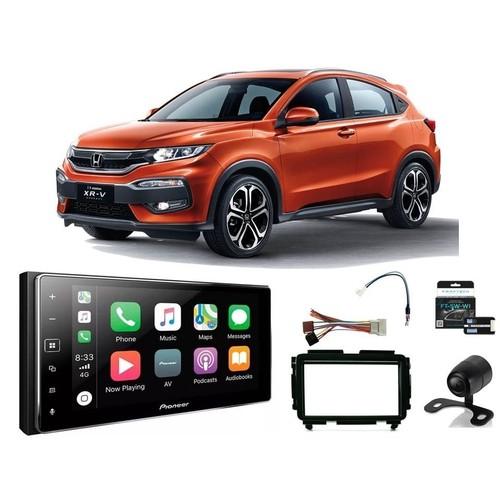 Central Multimidia Honda HRV 8 polegadas  - Pioneer DMHZS-8280TV+ Moldura 2 Din - CarPlay AndroidAuto + Interface Volante - 8280
