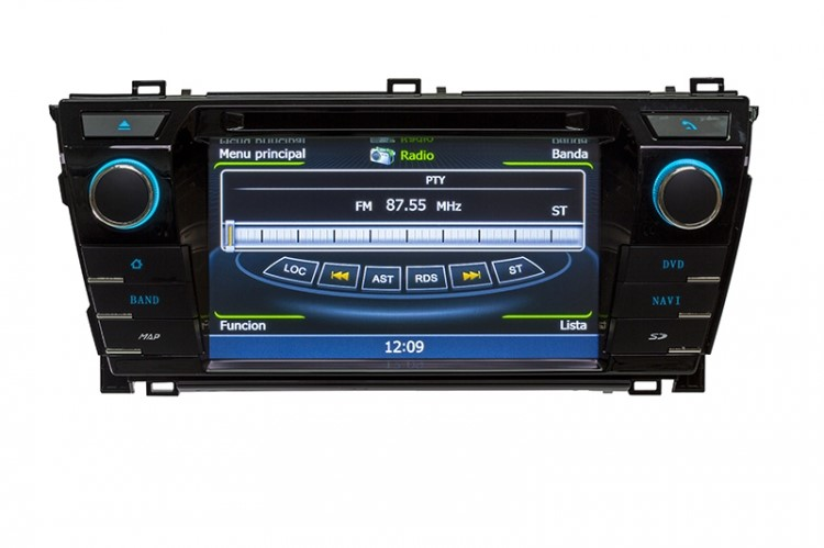 Central Multimidia Toyota Corolla 2015 2016 2017 GLS GLI Com DVD GPS Mapa Bluetooth MP3 USB Ipod SD Card Câmera Ré Grátis - Winca