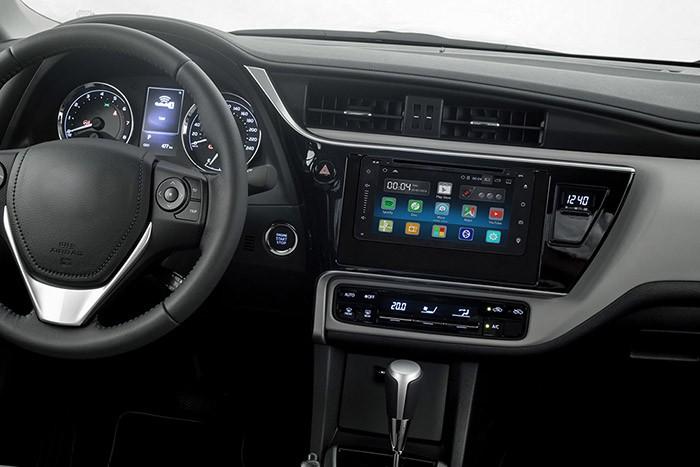 Central Multimidia Toyota Corolla 2017 / 2018 GLI TELA 7
