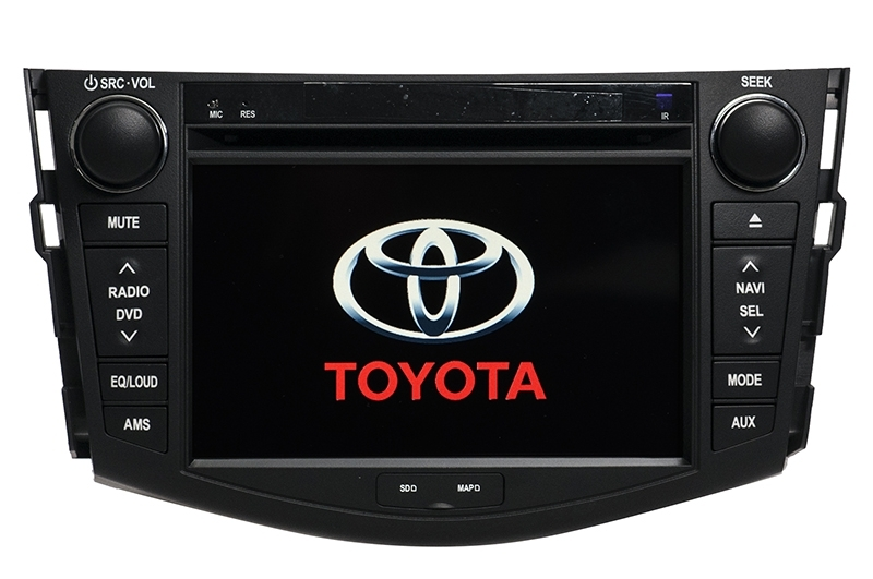 Central Multimidia Toyota Corolla 2009 2010 2011 2012 2013 2014 Com DVD GPS Mapa Bluetooth MP3 USB Ipod SD Card Câmera Ré Grátis - Winca