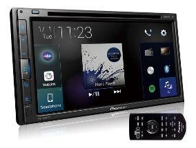 Central Multimidia Toyota Yaris - Pioneer AVH-A5280TV + Moldura 2 Din -  Com DVD GPS Wase Mapa Bluetooth MP3 USB Ipod SD Card + Câmera de Ré Grátis