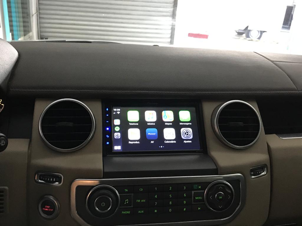 Central multimidia Land Rover Discovery 4 Pioneer DMH-Z5280TV - CarPlay, Android Auto, camera de ré Bluetooth Youtube