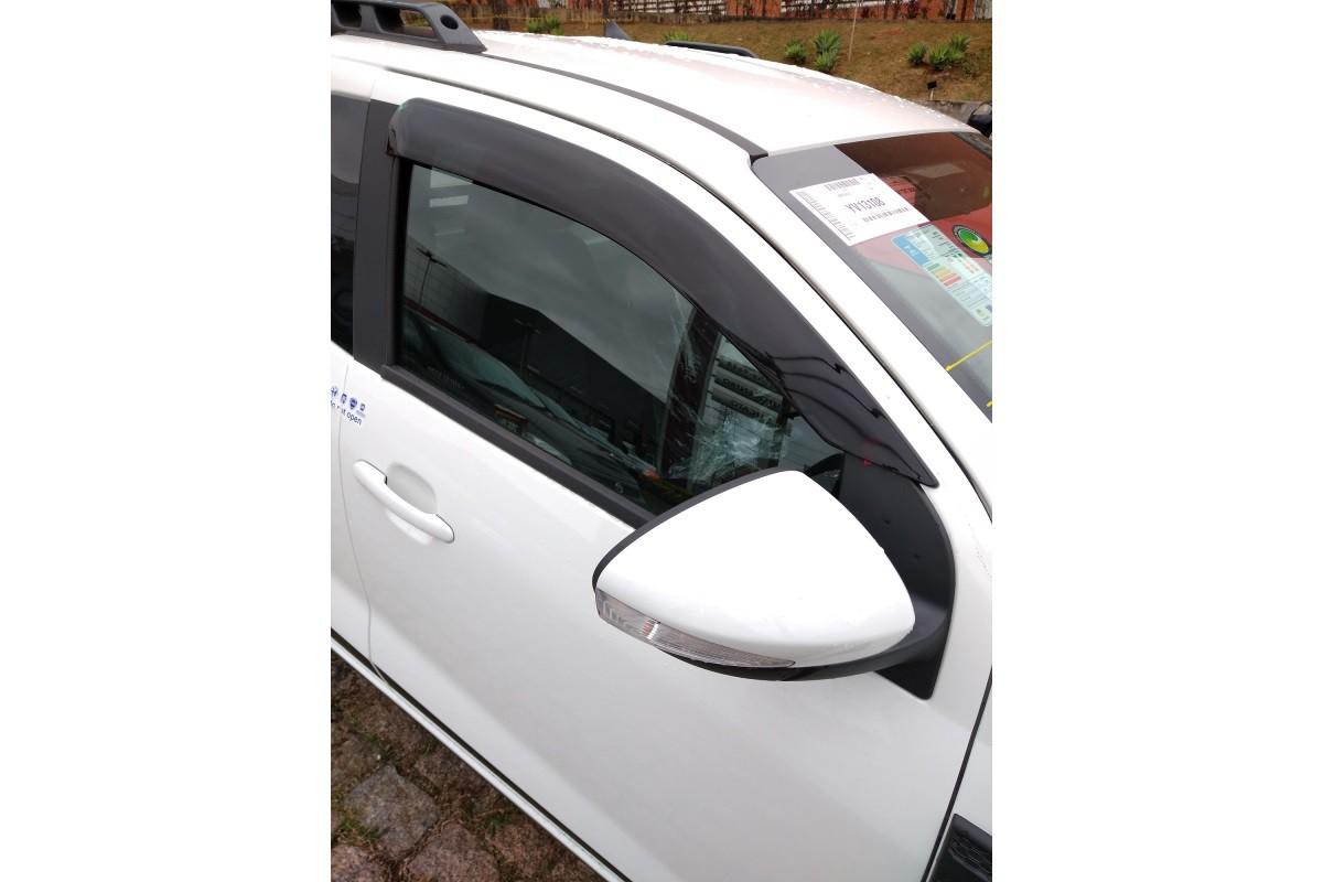 Calha Defletor De Chuva Fiat Strada CS 2021 - 2 portas