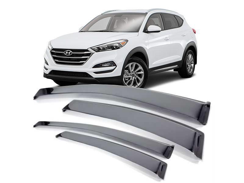 Calha Defletor De Chuva Hyundai New Tucson 2017 a 2020