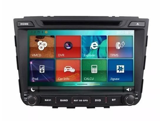 Central Multimidia Hyundai Creta 2017 2018 - HETZER S500  Com DVD GPS Mapa Bluetooth MP3 USB Ipod SD Card Câmera de Ré Grátis