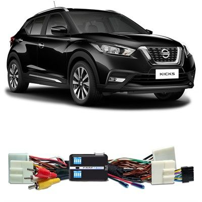 Interface Desbloqueio de Tela Nissan Kicks Faaftech FT-VF-NS4