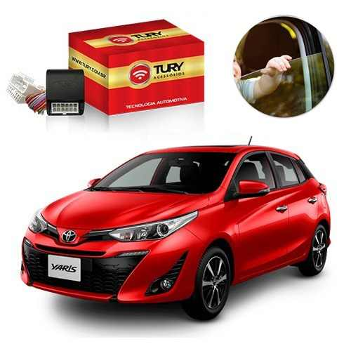 Módulo Subida De Vidro Toyota YARIS  -  Tury LVX 5.20 BP