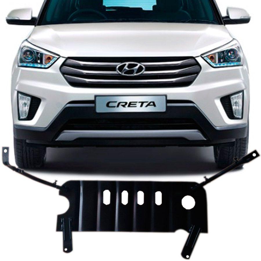 Protetor Carter Hyundai Creta 2016 a 2018 - Peito de Aço