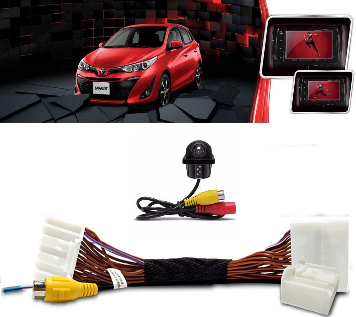 Desbloqueio de Tela Toyota Yaris + Câmera de ré