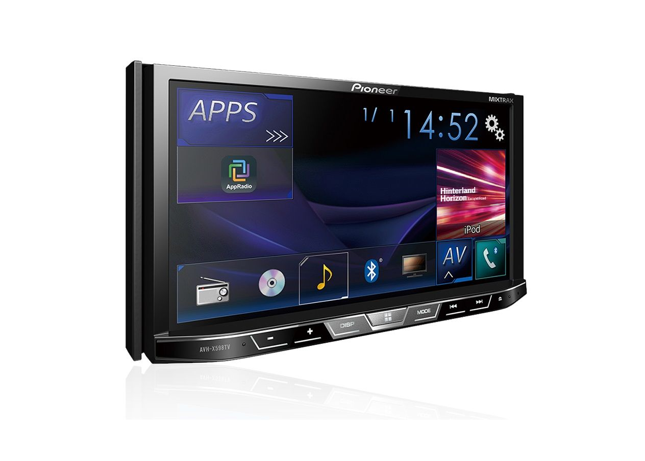 DVD Player Automotivo 2 DIN Pioneer AVH-A4180TV Tela 7