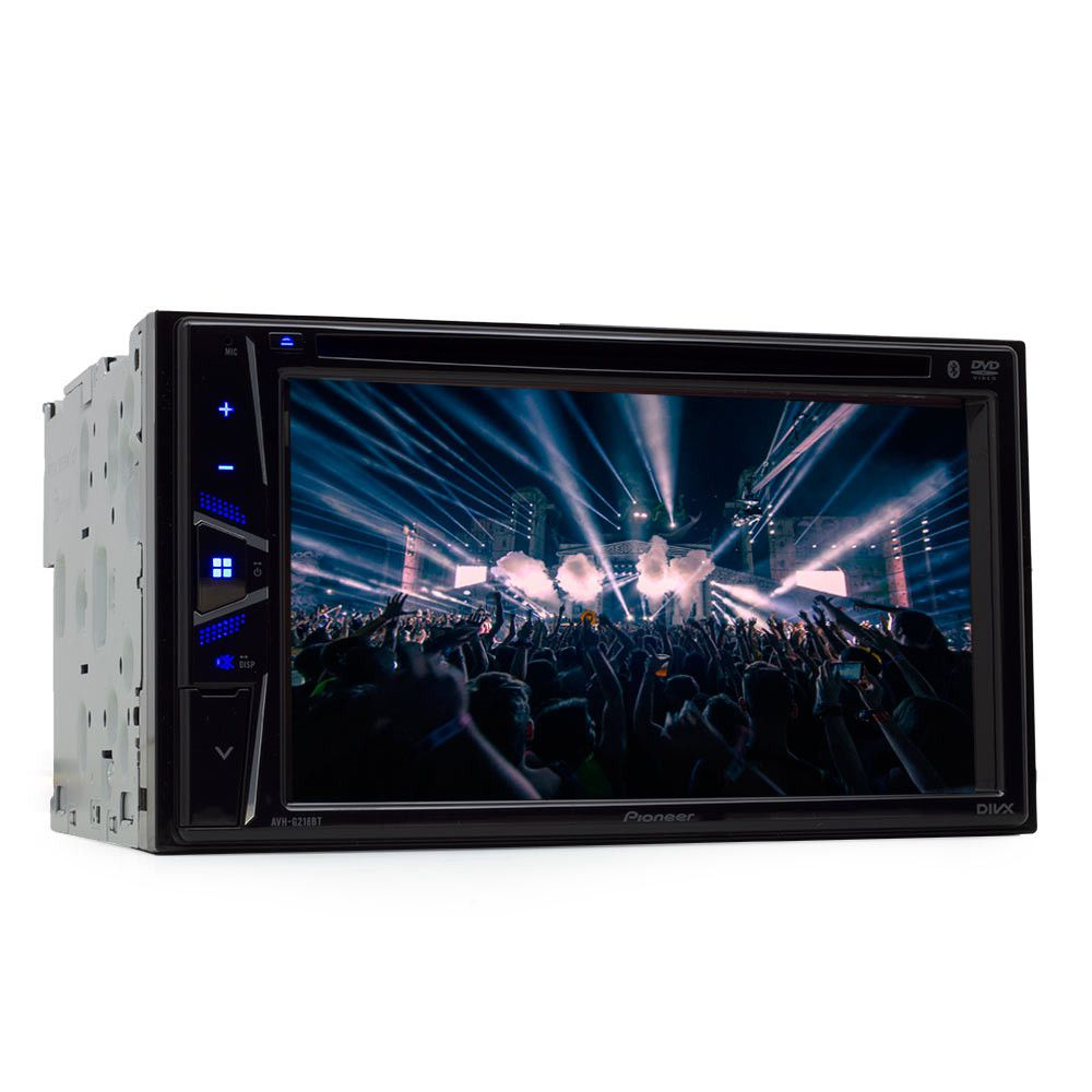 "DVD Player Automotivo 2 DIN Pioneer AVHG218BT Tela 6,2"" - Bluetooth Com Entrada USB + CAMERA DE RÉ"