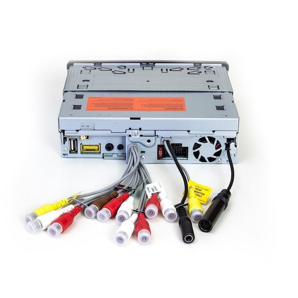 DVD Player Automotivo Retrátil Pioneer AVH-X 7880TV Tela 7 Polegadas Com TV Digital Bluetooth Entrada USB Entrada Auxiliar TouchScreen Mixtrax e MP3
