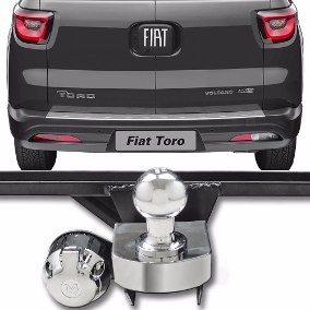 Engate para reboque Fiat Toro 2015 Á 2018
