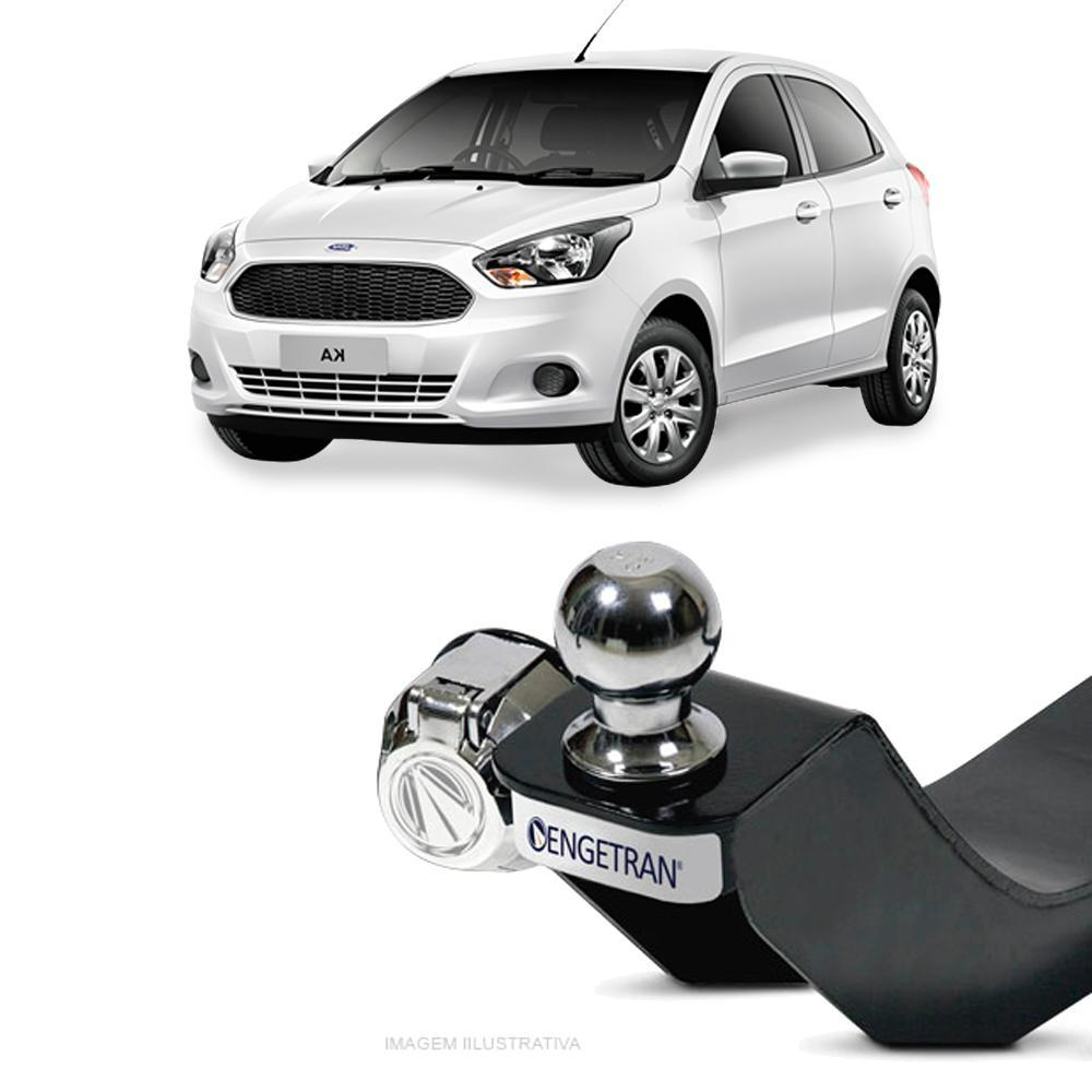 Engate para reboque Ford KA 2015 á 2018