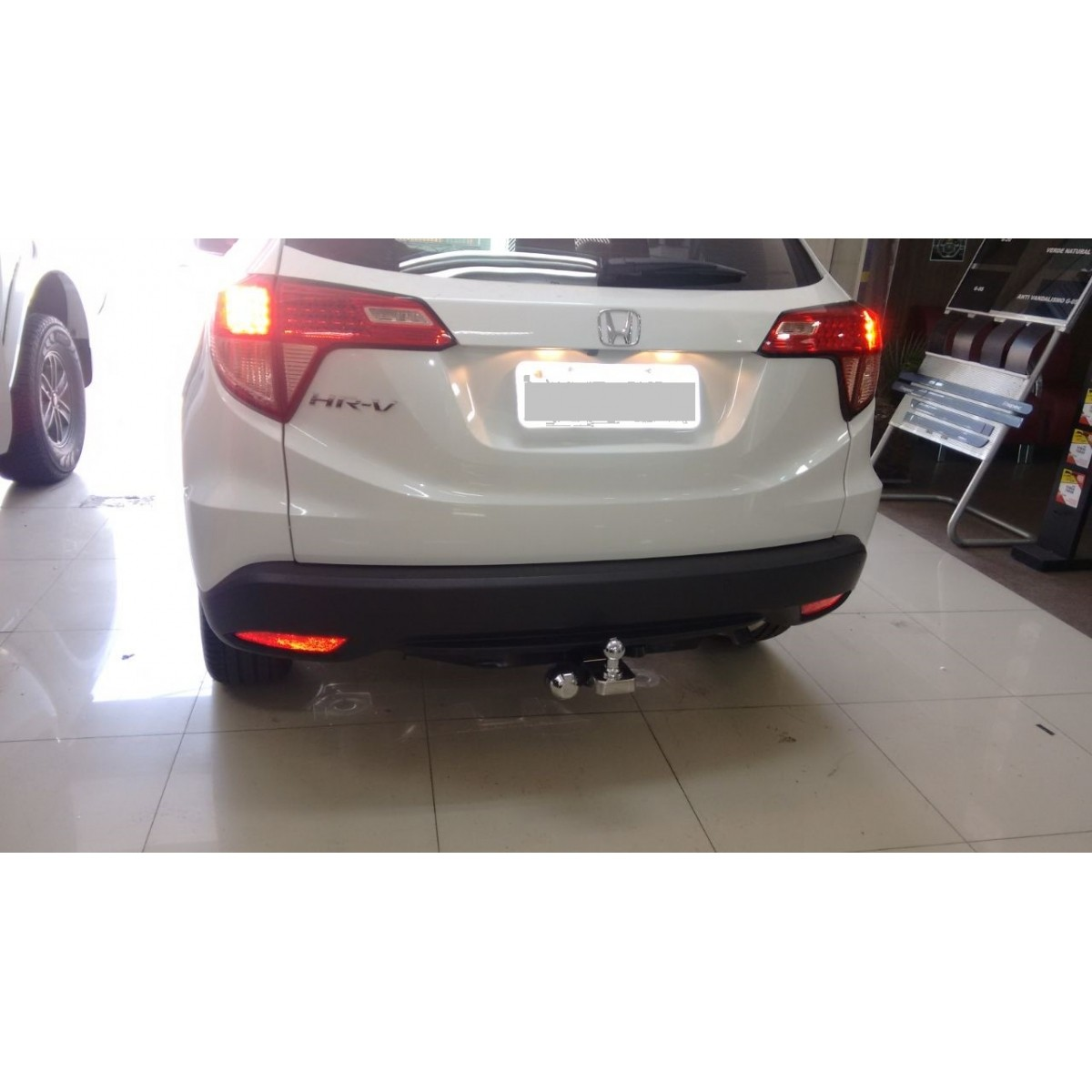 Engate para reboque Honda HRV 2015 Á 2020