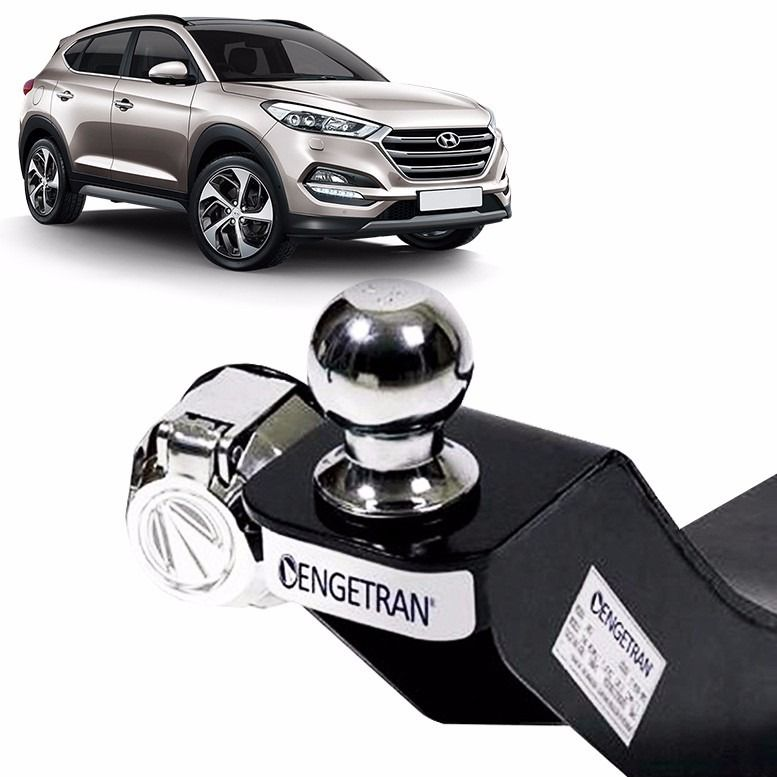 Engate para reboque Hyundai New Tucson 2017 2019