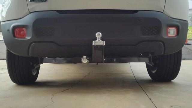 Engate para reboque Jeep Renegade - PRODUTO INSTALADO