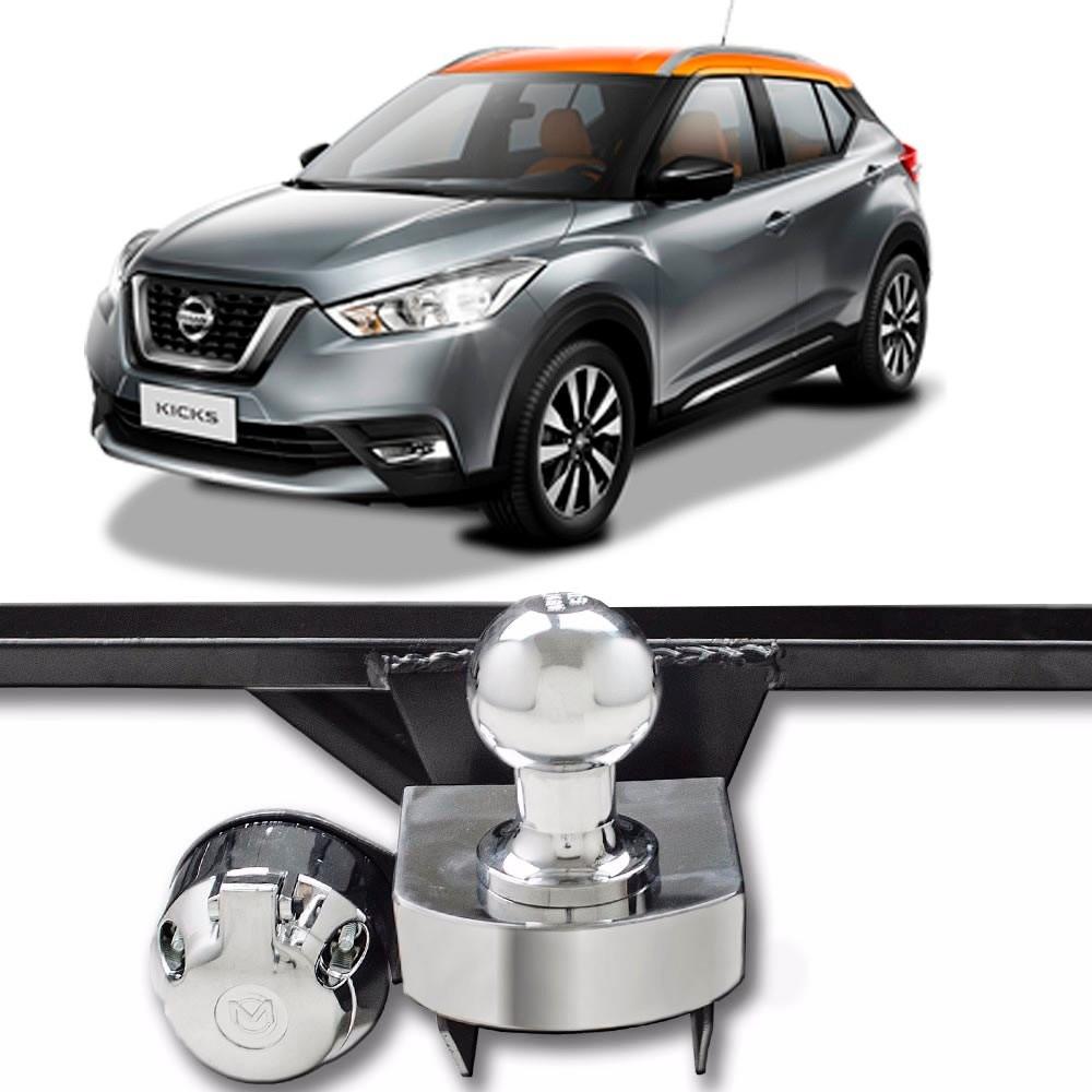 Engate para reboque Nissan Kicks 2017  Á 2019 - 500 KG