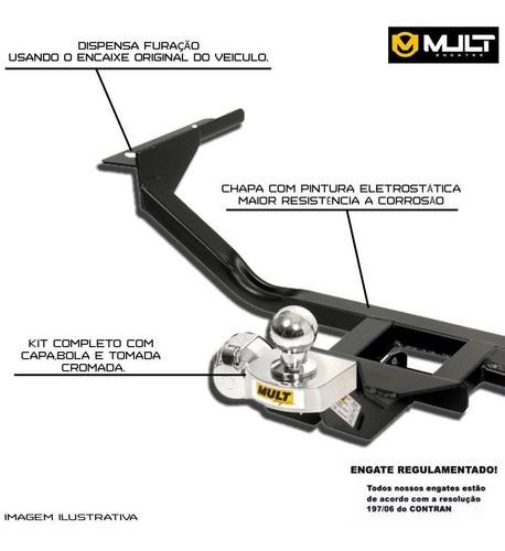 Engate Para Reboque Onix Nova Geração - Original Mult - Hatch / Plus