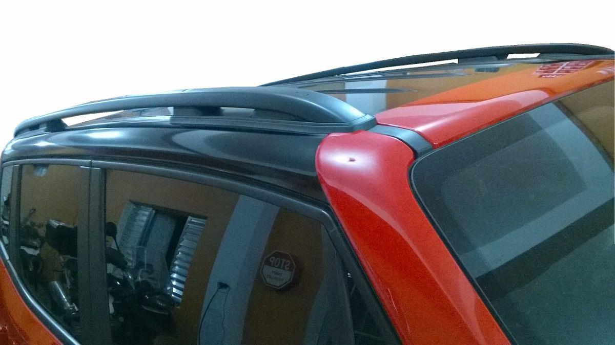 Envelopamento de Teto Jeep Renegade ( KIT-A ) Teto + Colunas  - Black Piano / Preto Fosco