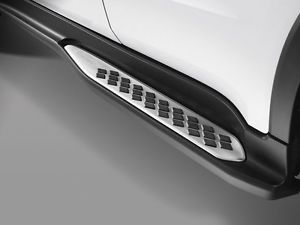 Estribo Lateral Honda Hrv 2015 Á 2018 -  Modelo Original Preto / Prata - PRODUTO INSTALADO
