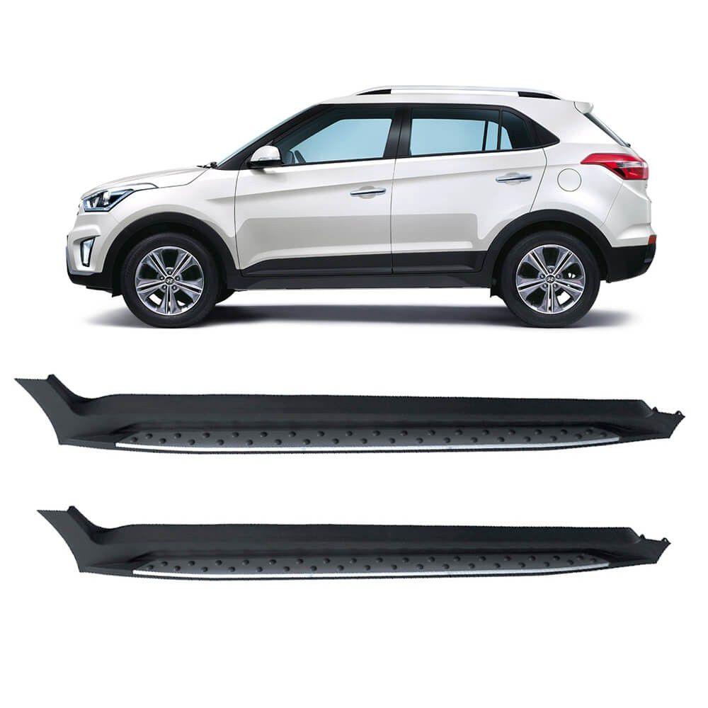 Estribo Lateral Injetado Hyundai Creta - Original