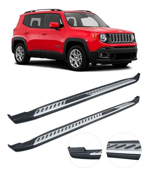 Estribo Lateral Injetado Jeep Renegade - Original