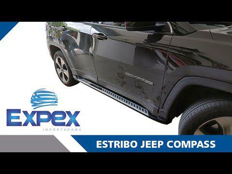 Estribo Lateral Jeep Compass Injetado Original - PRODUTO INSTALADO