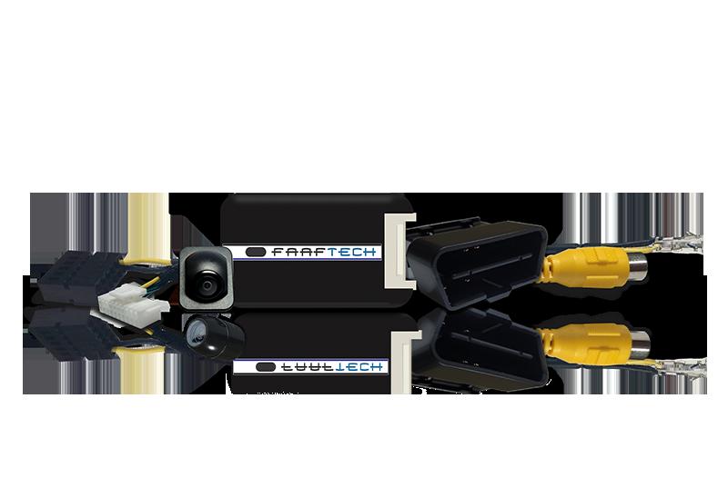 Interface Ativador Câmera Ré TCross  - para Central Multimidia Original VW - Produto INSTALADO