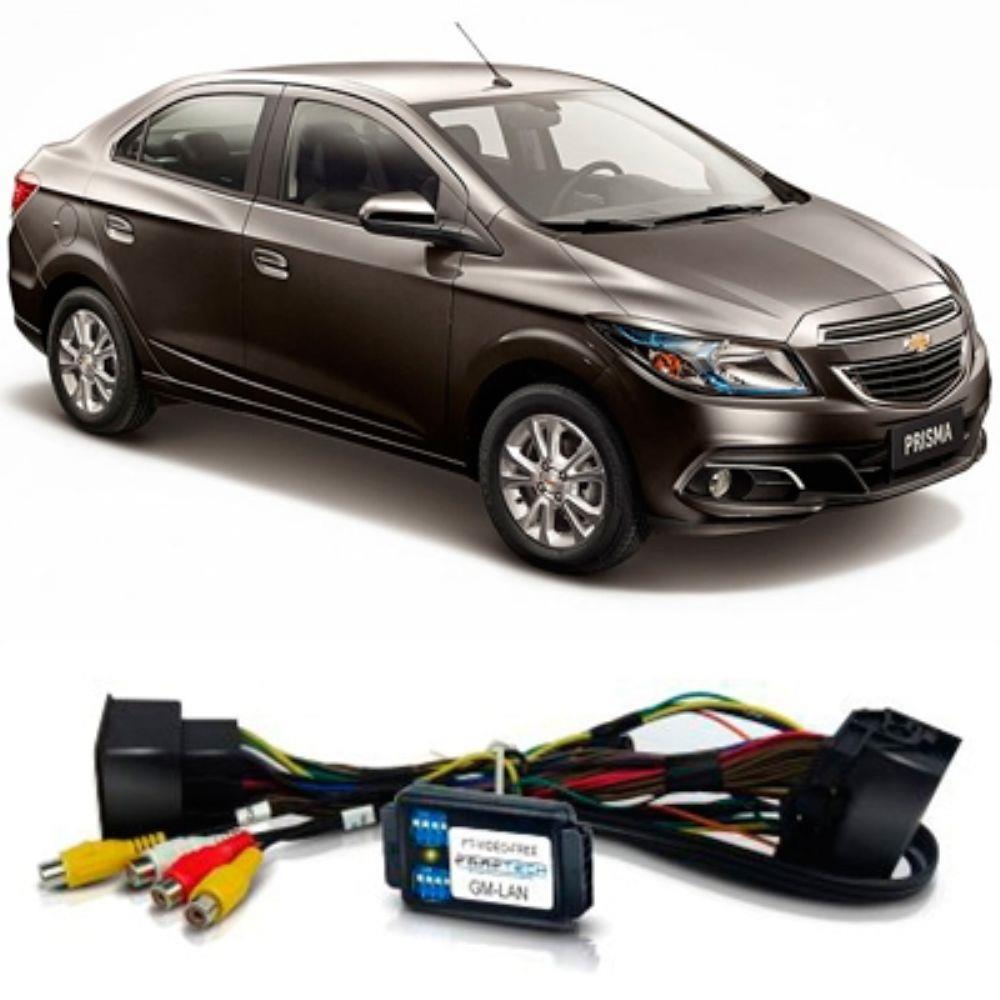 Interface Desbloqueio de Tela Chevrolet - Onix Prisma Sonic Spin Cobalt S10 LT 2013 á 2015 - Faaftech