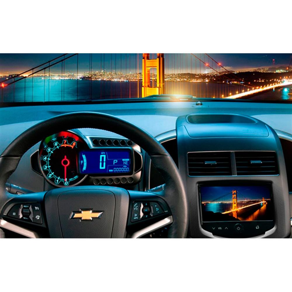 Interface Desbloqueio de Tela Chevrolet Onix Prisma Spin Cobalt S10 LT 2013 á 2015 - Caska + TV Digital