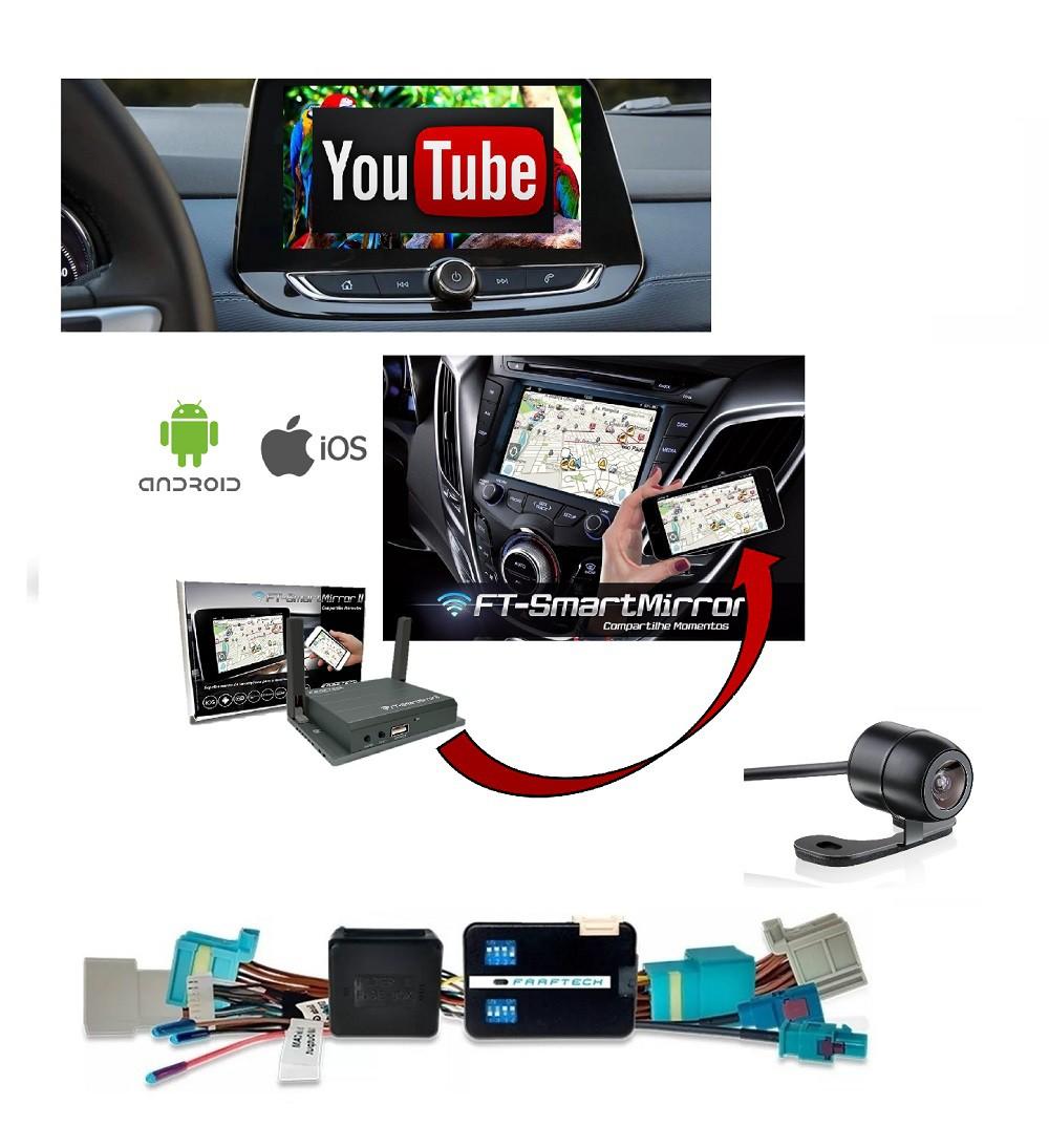 Interface Desbloqueio de Tela New Tracker 2021 Onix Nova Geração My link 3 + Espelhamento s/ Fio  + Camera Frontal (GRATIS)