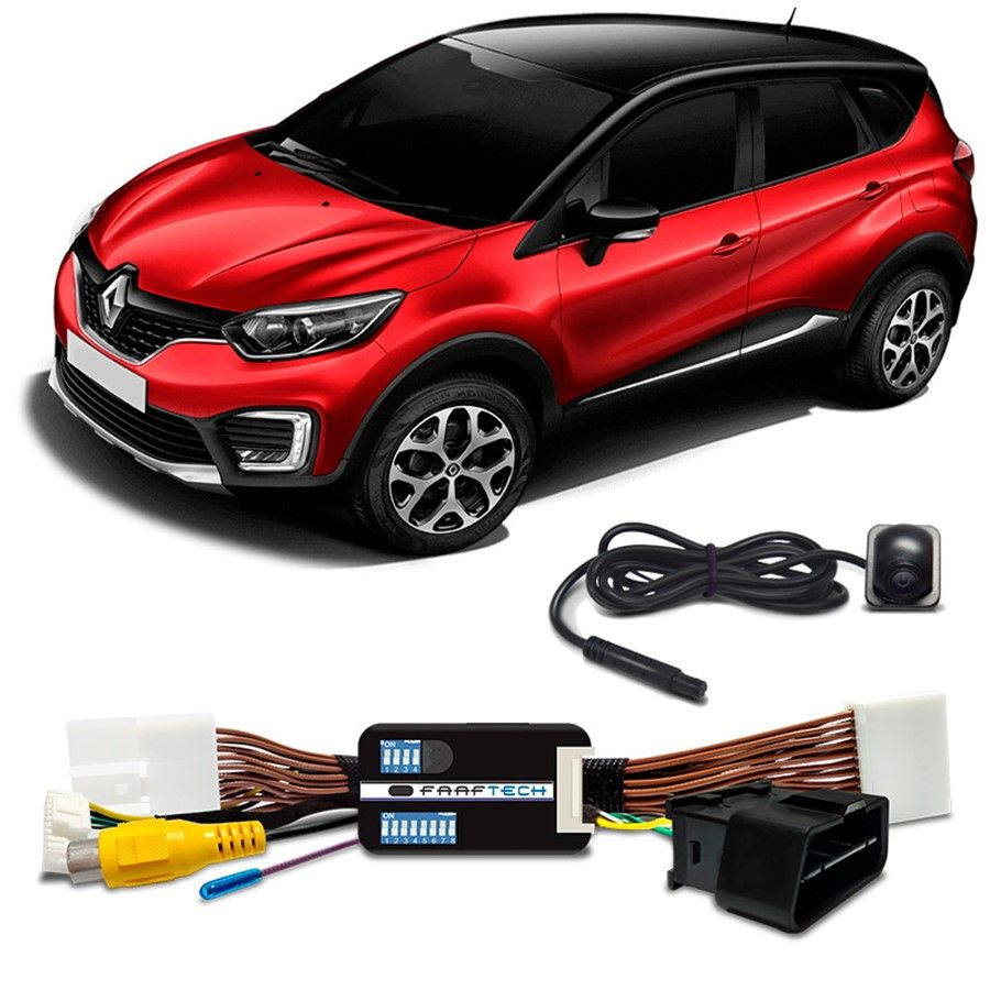 Interface Desbloqueio de Tela RENAULT CAPTUR KWID DUSTER SANDERO LOGAN    Faaftech FT-VF-RN