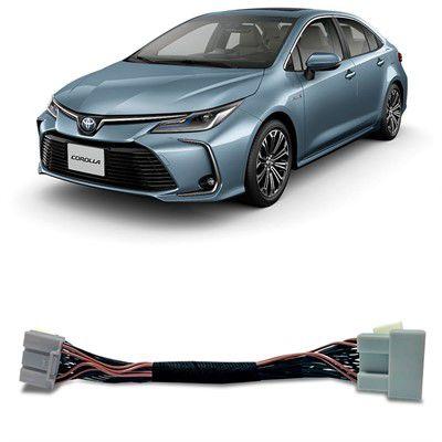 Interface Desbloqueio de Tela Toyota Corolla 2020 - Faaftech
