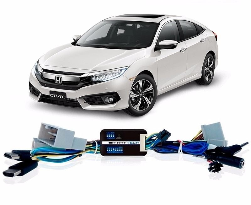 Interface Desbloqueio De Video Honda Civic G10 2017 2021  Faaftech -