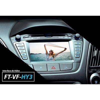 Interface Desbloqueio de Video IX35 2015 a 2019 + Espelhamento sem fio - Faaftech