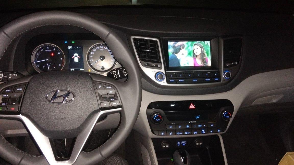 Interface Desbloqueio De Video New Tucson 2017 2018 + TV FULL HD + Espelhamento sem fio - Faaftech