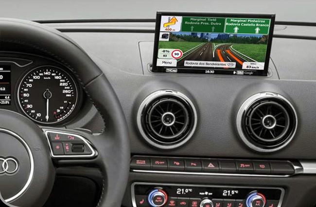 Interface Desbloqueio multimídia AUDI A3  - LVDS Entrada Tv Digital Espelhamento Câmera de Ré e GPS